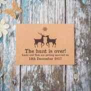 70 Elegant Christmas Wedding Invitations Ideas