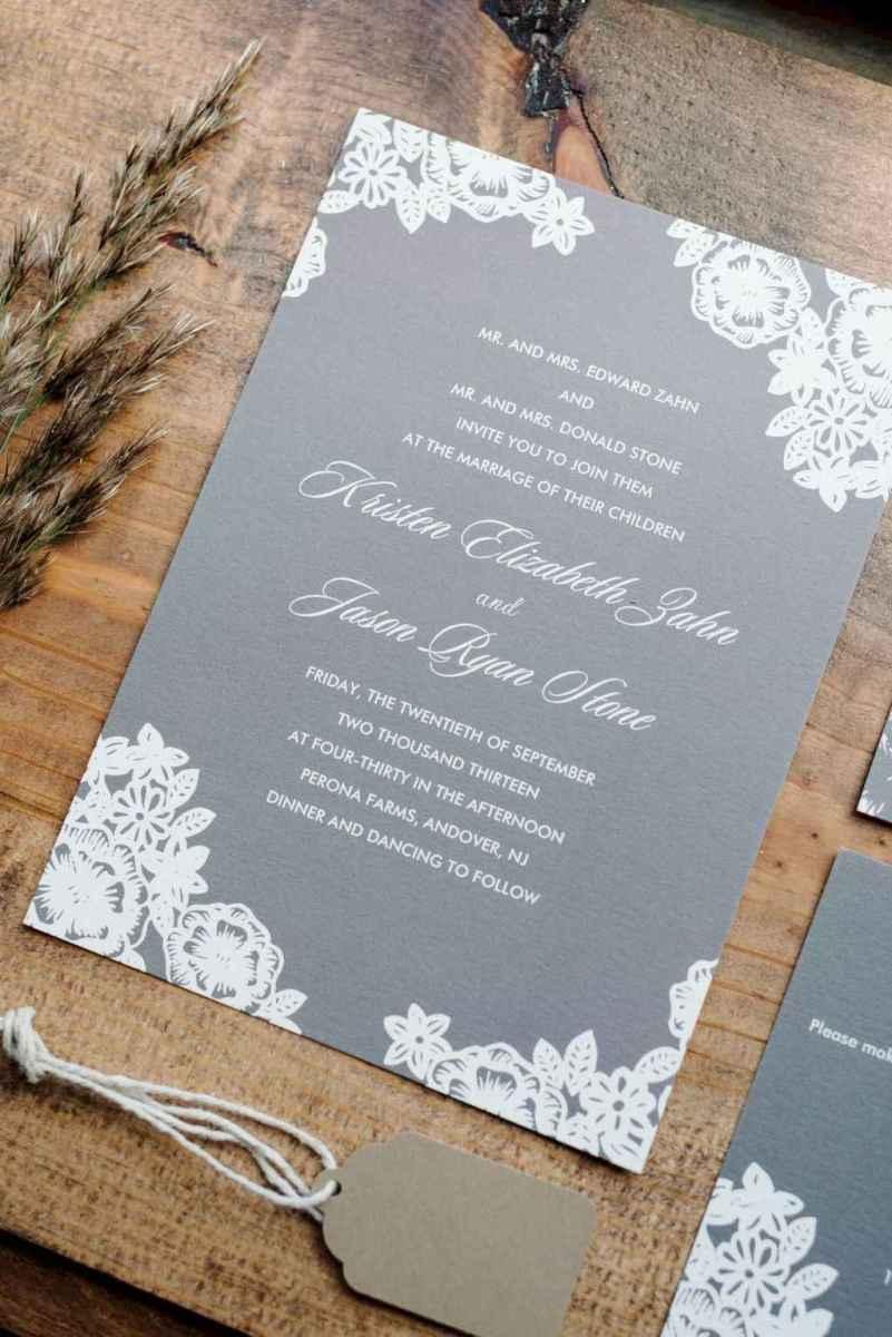 71 Simple Inexpensive Wedding Invitations Ideas