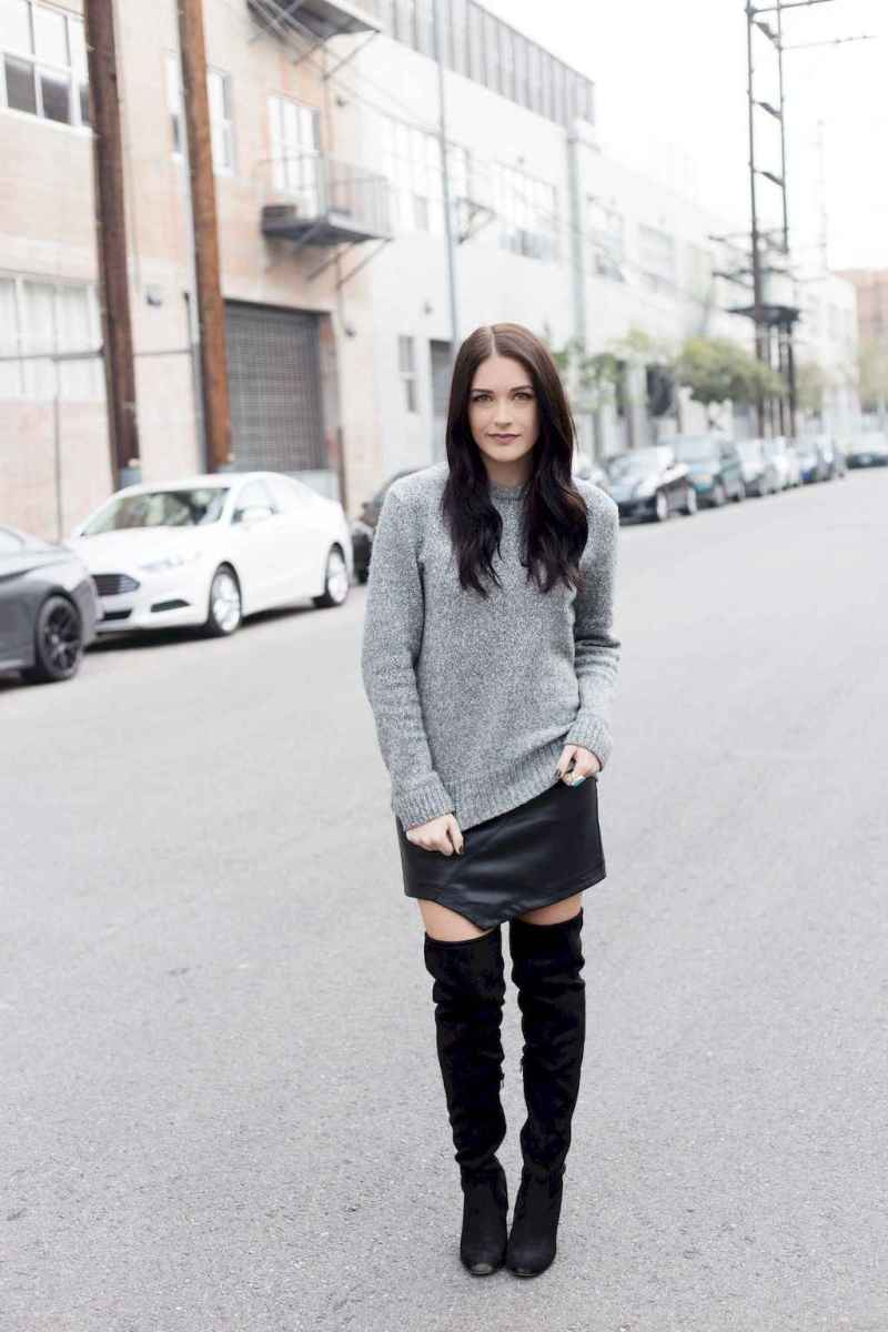 77Best Boots to Wear with Skirts