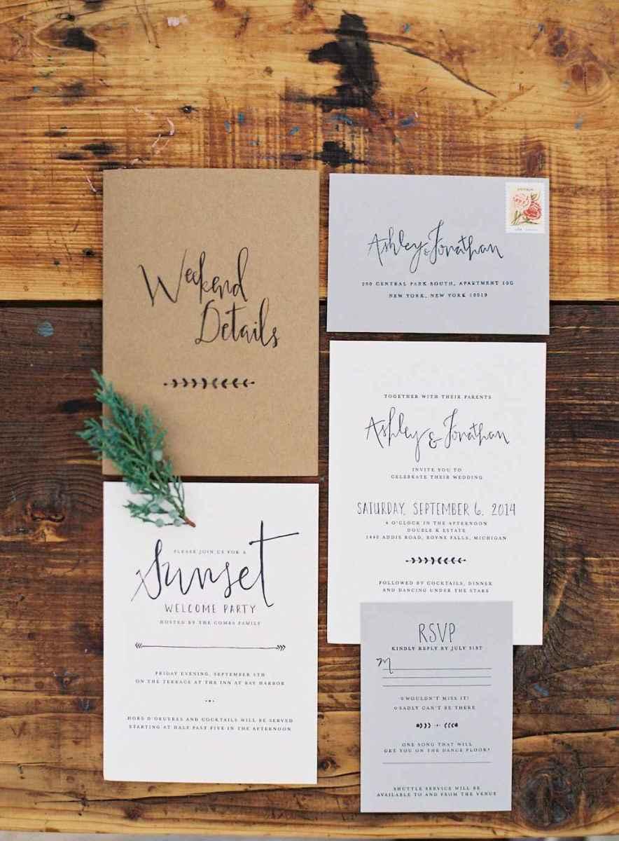 78 Simple Inexpensive Wedding Invitations Ideas
