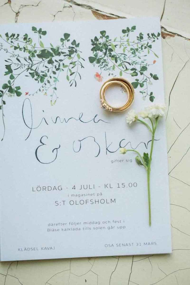 79 Simple Inexpensive Wedding Invitations Ideas