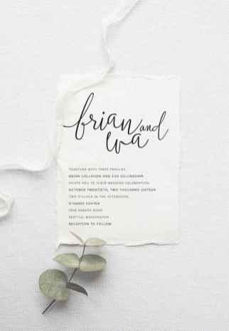 80 Simple Inexpensive Wedding Invitations Ideas