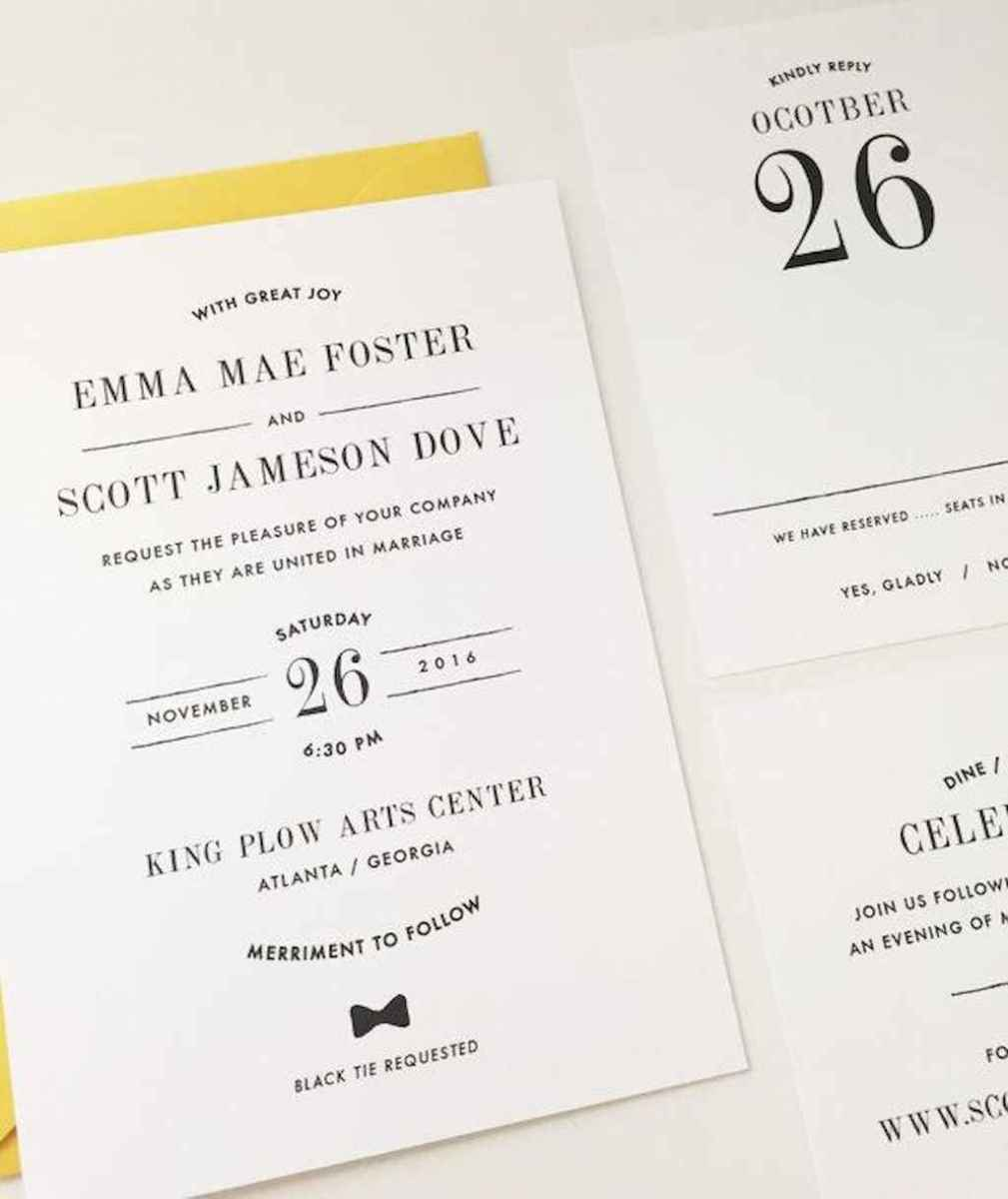 84 Simple Inexpensive Wedding Invitations Ideas