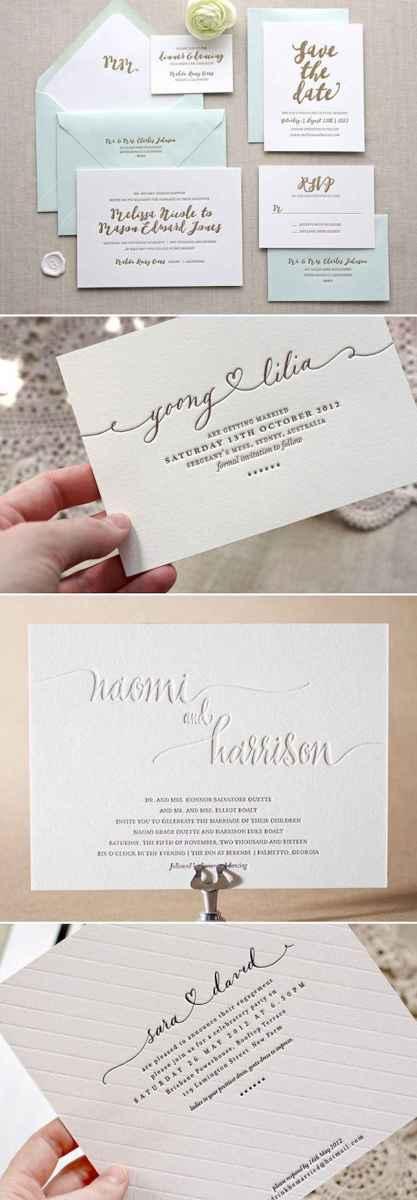 85 Simple Inexpensive Wedding Invitations Ideas