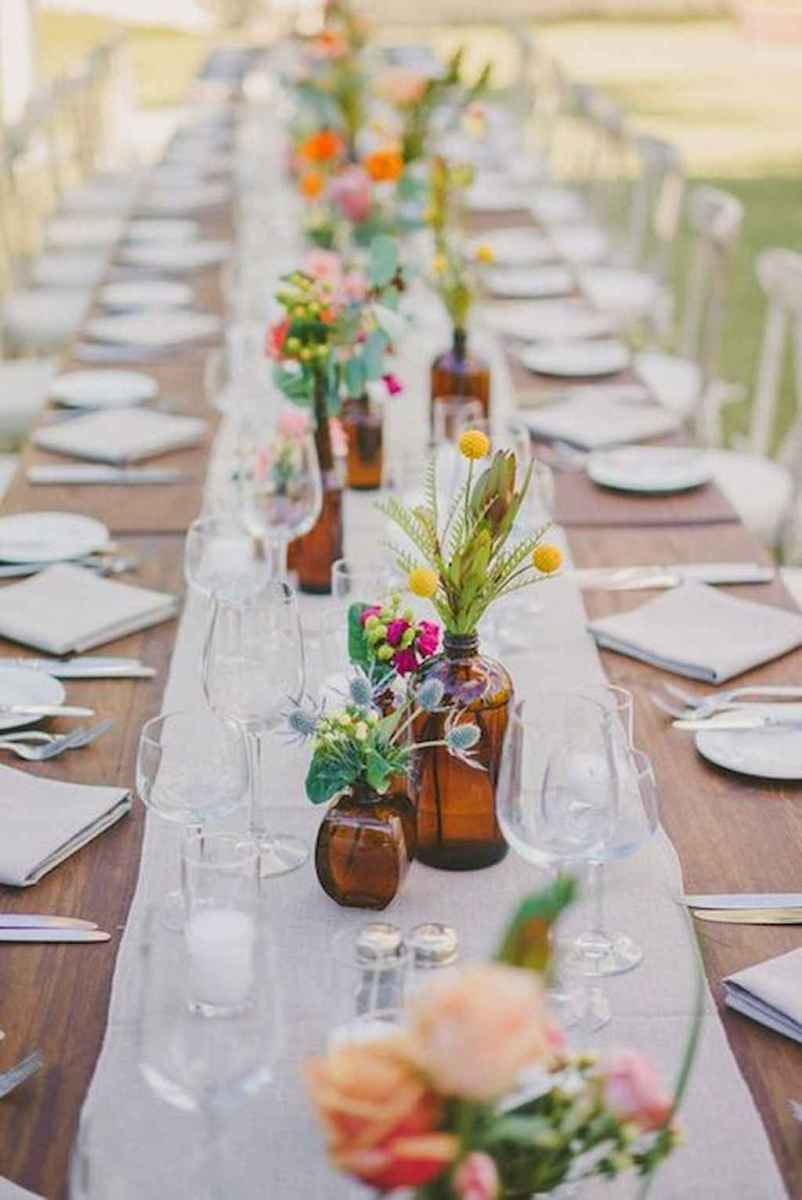 86 Romantic Tropical Wedding Ideas Reception Centerpiece