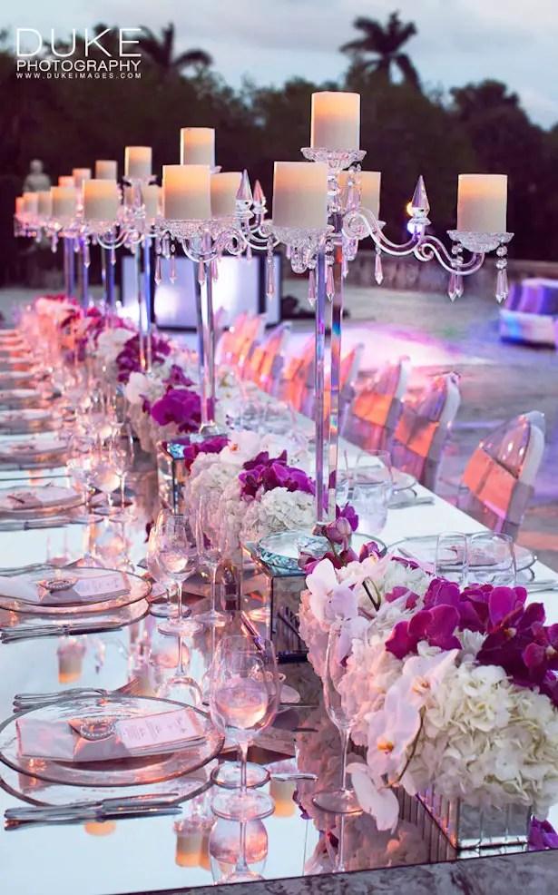 Fabulous Long Wedding Tables - Belle The Magazine