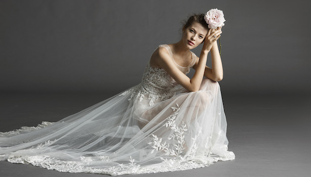 Wedding Dress From Watters Spring 2015 Bridal Collection