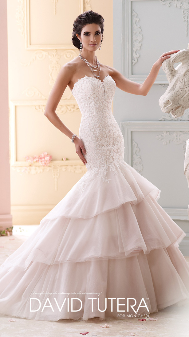 David Tutera for Mon Cheri Fall 2015