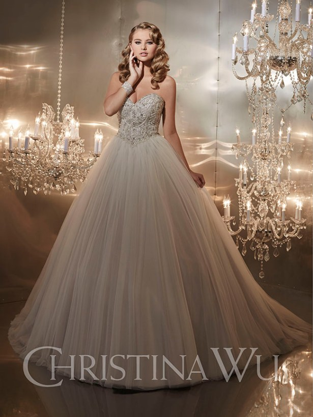 Find Your Happily Ever After In A Christina Wu Wedding Dress