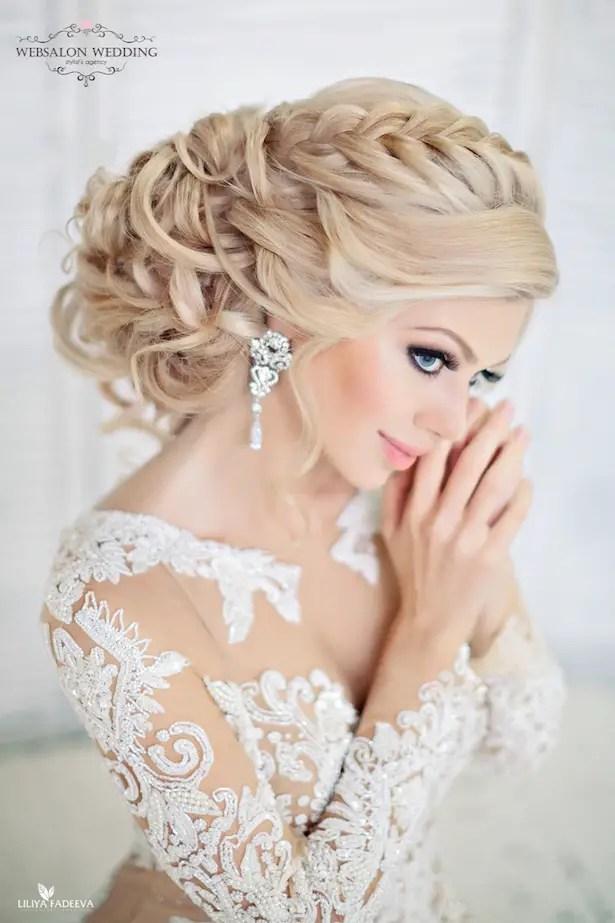 Glamorous Wedding Hairstyles Belle The Magazine