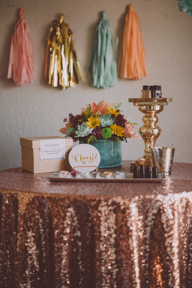 Diy Nail Polish Bar For Your Bridal Celebrations