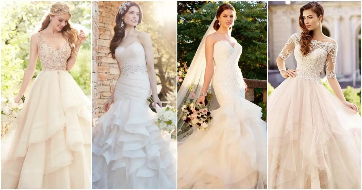 Wedding Dress Trends 2017: Ruffled Skirts