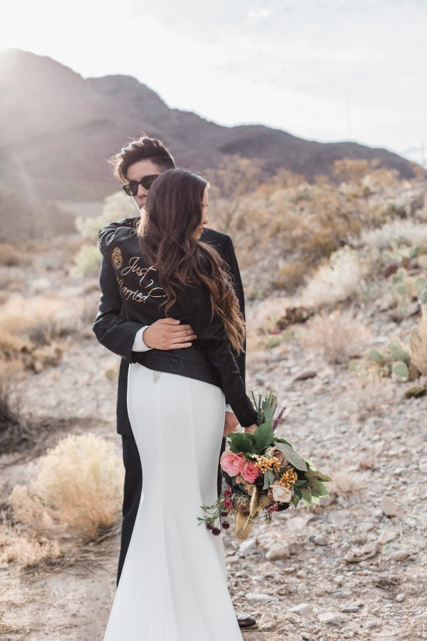 DIY Just Married Bridal Leather Jacket With Cricut
