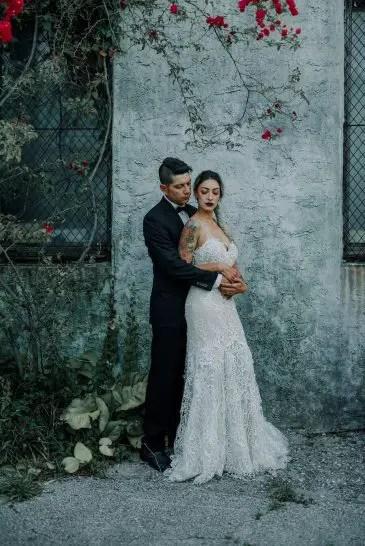 Edgy And Glamorous Wedding Inspiration Belle The Magazine