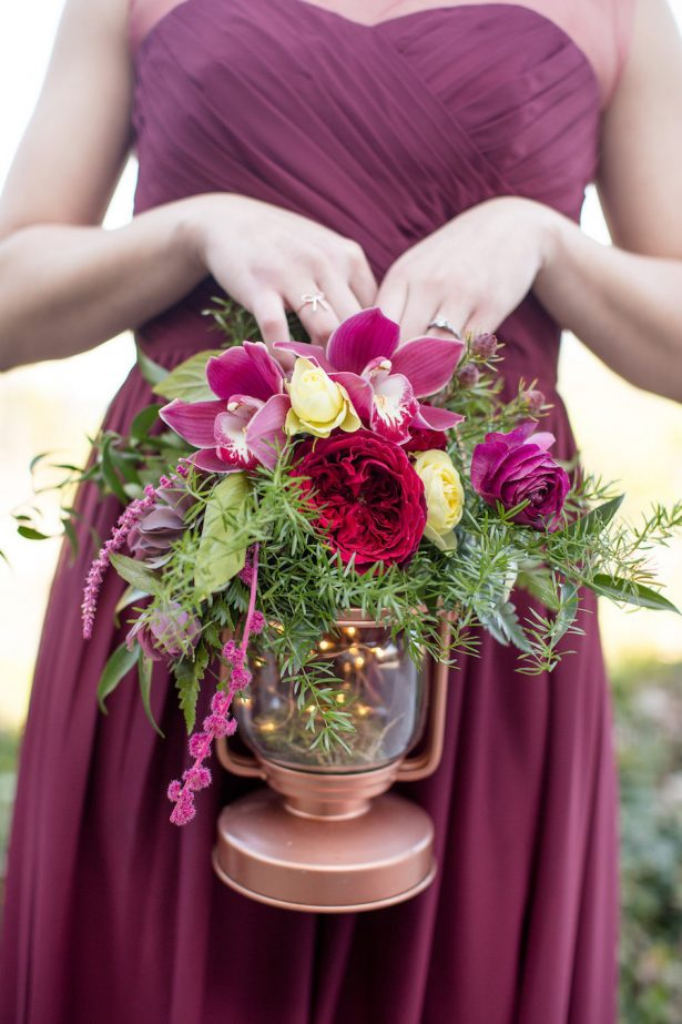 Blush And Burgundy Wedding Belle The Magazine