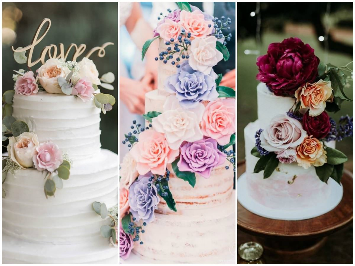 20 Floral Wedding Cake Ideas To Add A Dose Of Romance To