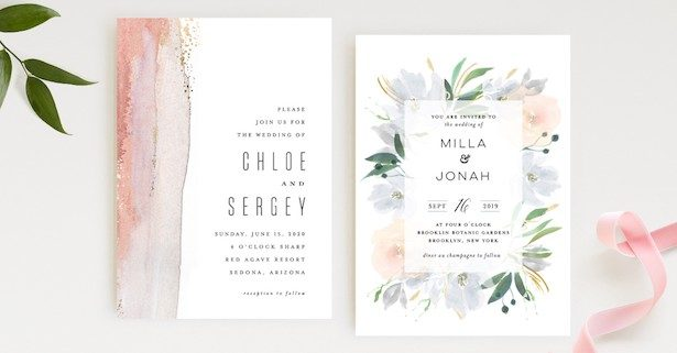 Where To Get Stylish Wedding Invitations Paper And Digital
