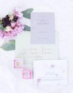 Blush wedding Invitations- Janita Mestre Photography