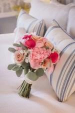 Pink wedding bouquet- Dani Leigh Photography