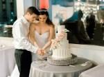 nashville wedding cake cutting - Sarah Nichole Photography