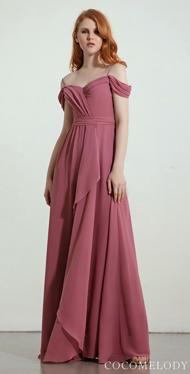 """Arquitectural Bridesmaid Dress Trends by Cocomelody 2020 - LAYLA """"width ="""" 615 """"height ="""" 1210 """"data-pin-description ="""" Arquitectural Bridesmaid Dress Trends by Cocomelody 2020 - LAYLA 