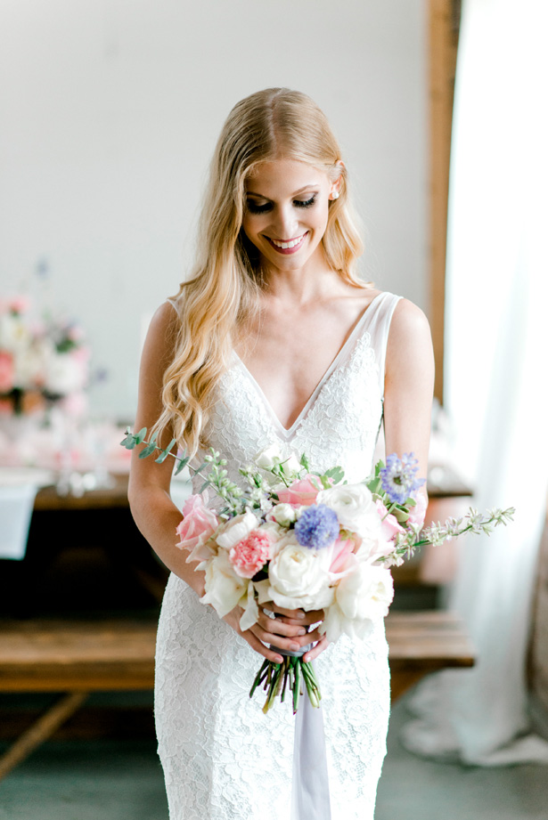 Sophisticated Feminine Bride - Bobby Jean Photography