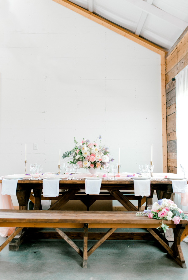 Feminine Pastel Wedding Tablescape for the Romantic Bride - Bobby Jean Photography