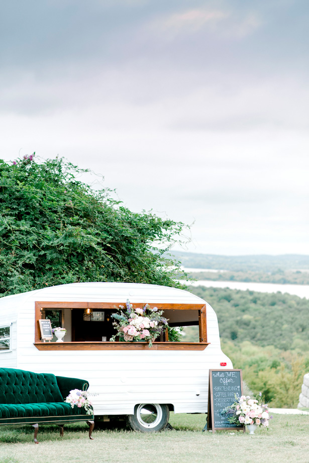 Wedding Camper Bar - Bobby Jean Photography