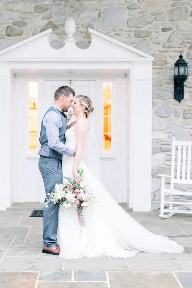 Romantic wedding photo - Mallory McClure Photography