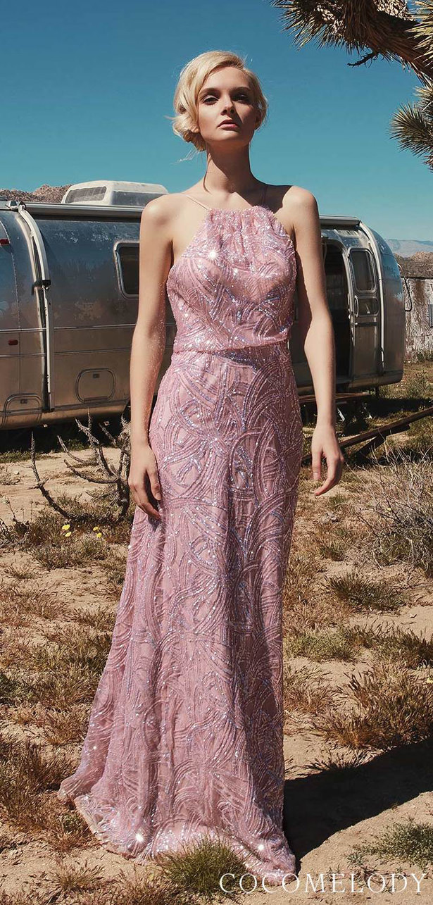 Sequins Bridesmaid Dress Trends by Cocomelody 2020 - MIA