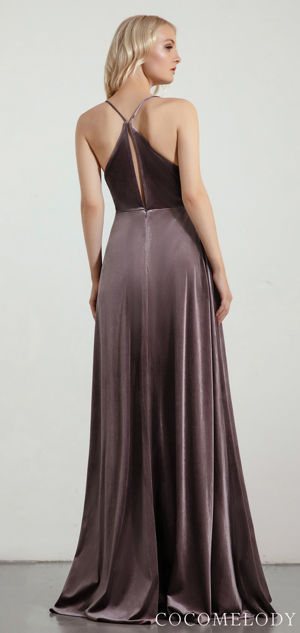 Velvet Bridesmaid Dress Trends by Cocomelody 2020