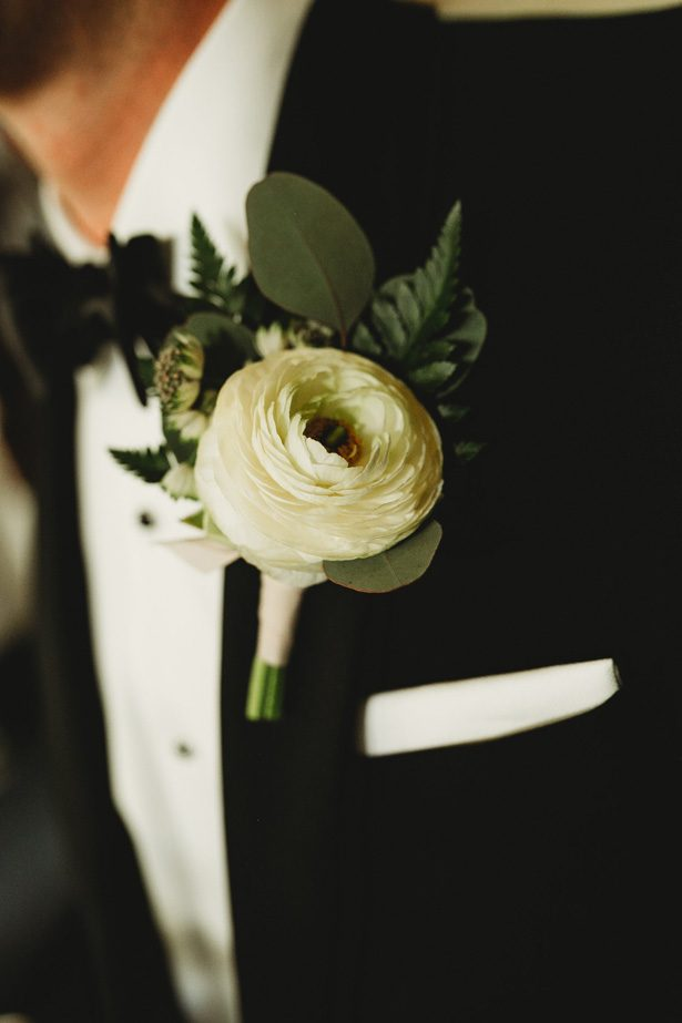Wedding Boutonniere - Man and Wife Photography