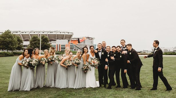 Wedding Party Photo - Mann and Wife Photography