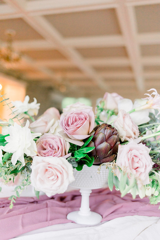 Wild romantic pink wedding bouquet - Mallory McClure Photography