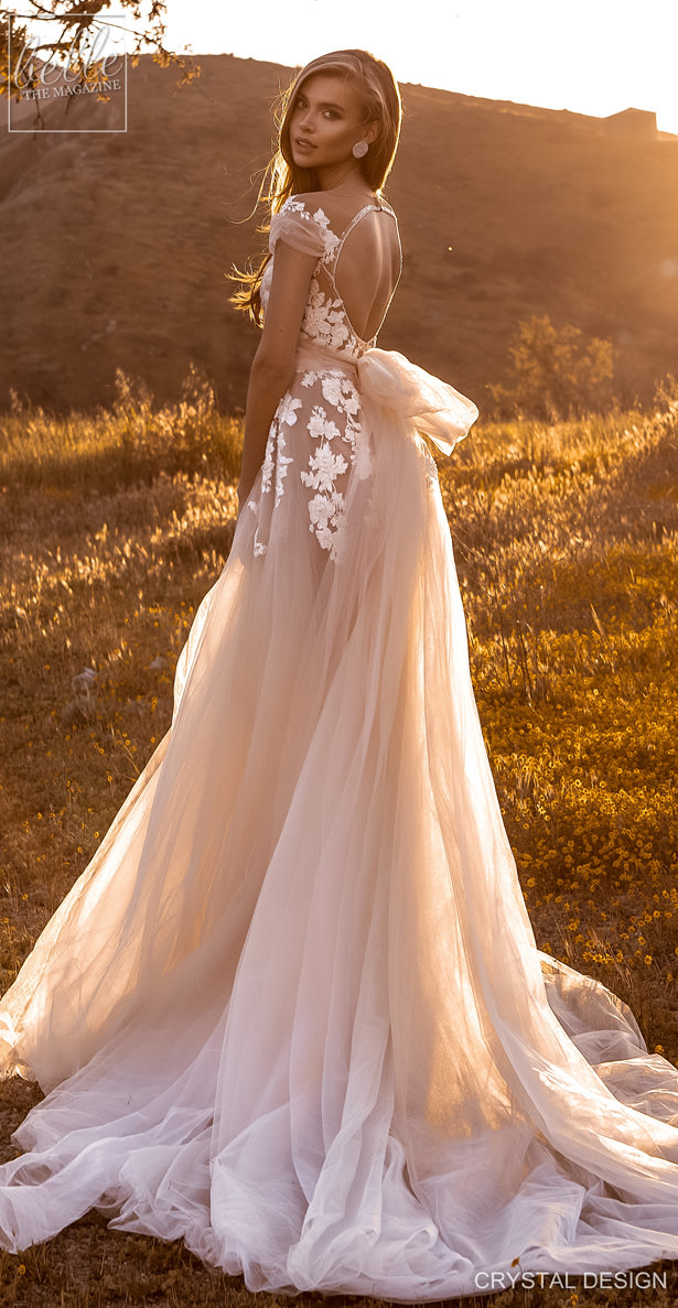 "Crystal Design Couture Wedding Dresses 2020 - Catching The Wind Collection - Zanizibar ""width ="" 615 ""height ="" 1187 ""data-pin-description ="" Crystal Design Couture Wedding Dresses 2020 - Catching The Wind Collection - Zanizibar 