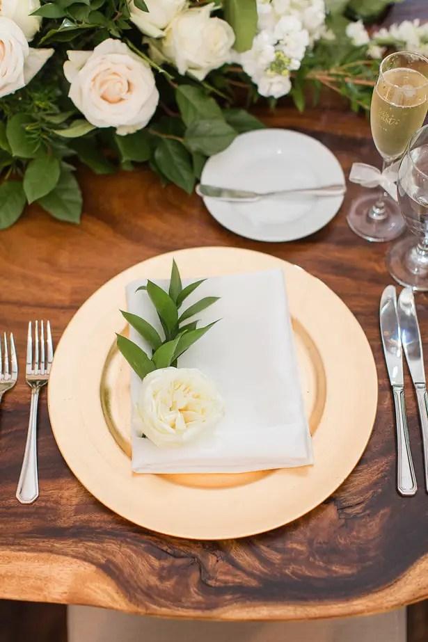 Chic Wedding Place Setting - Theresa Bridget Photography