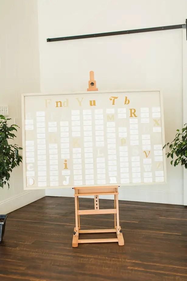boho wedding table sign - Theresa Bridget Photography