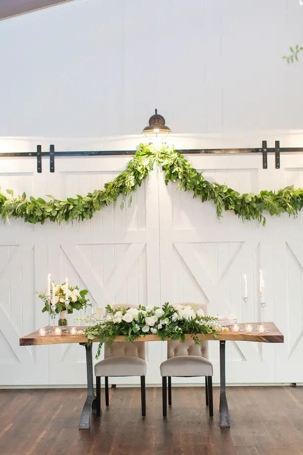 boho wedding sweet heart table - Theresa Bridget Photography