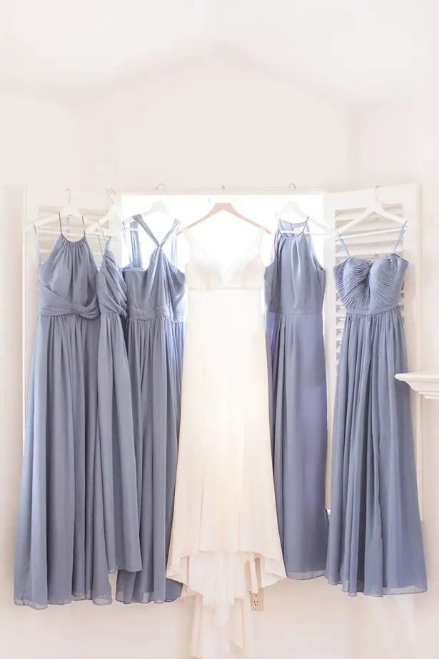 boho wedding party dresses - Theresa Bridget Photography