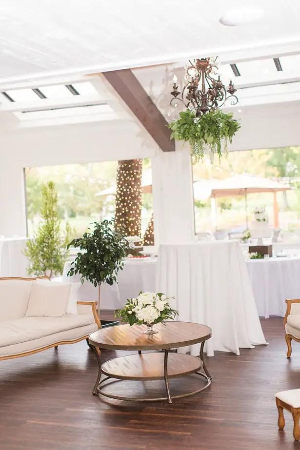 Chic Wedding Reception Decor - Theresa Bridget Photography