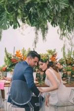 Stylish Tropical Wedding Inspiration - George Pahountis Photographer