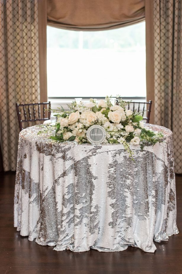 Sweetheart table decor - Lynne Reznick Photography