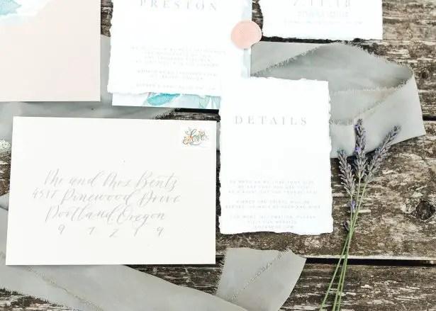 Wedding invitations - Lauryn Kay Photography