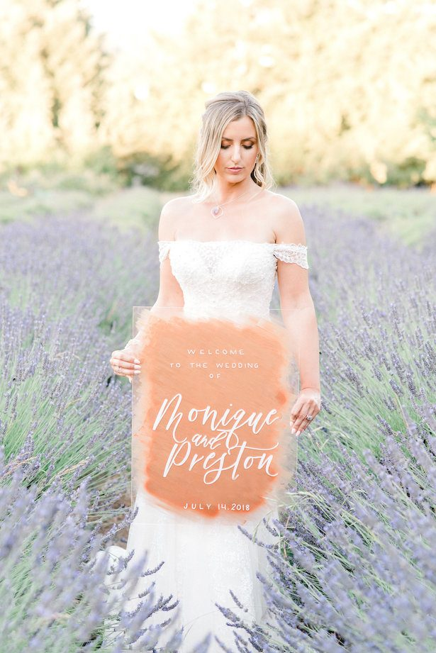 Romantic Wedding Sign - Lauryn Kay Photography