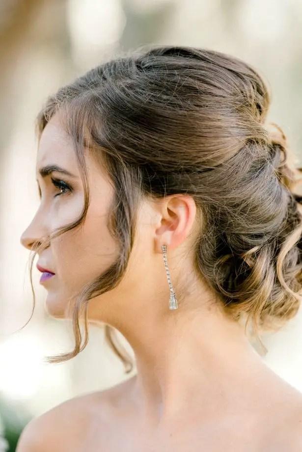 Bridal hair and make up - Photography: Hi Volt Studios