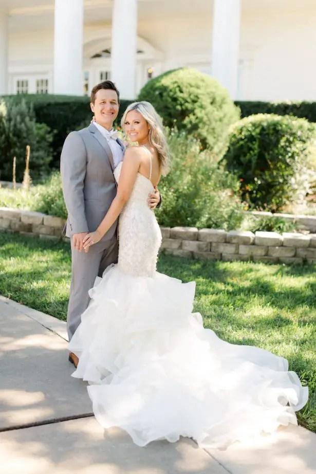 Romantic wedding photo - Krystle Akin Photography