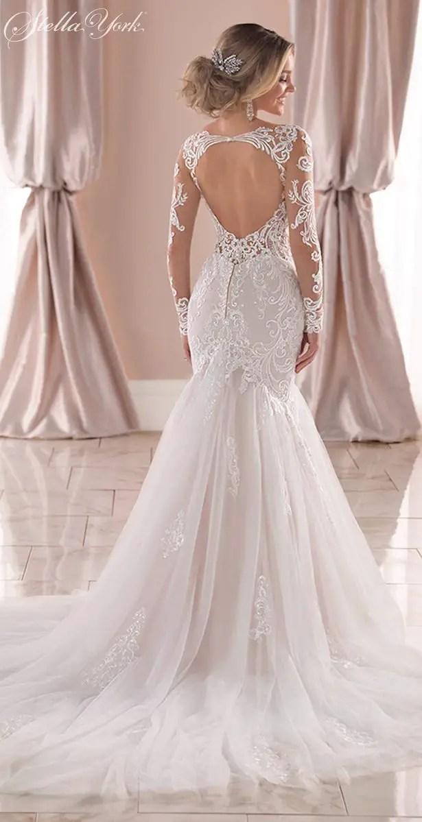 Long sleeves wedding dress - Stella York Style 6852