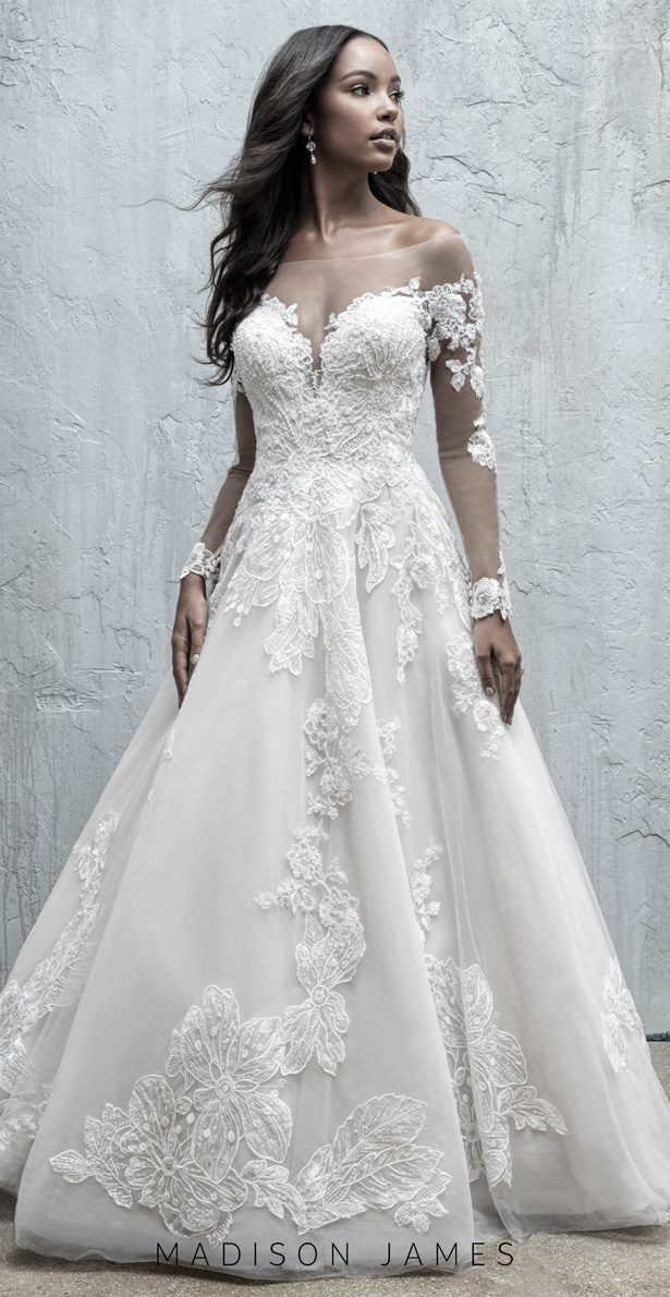 Stunning Wedding Dresses by Madison James Fall 2019 - MJ552