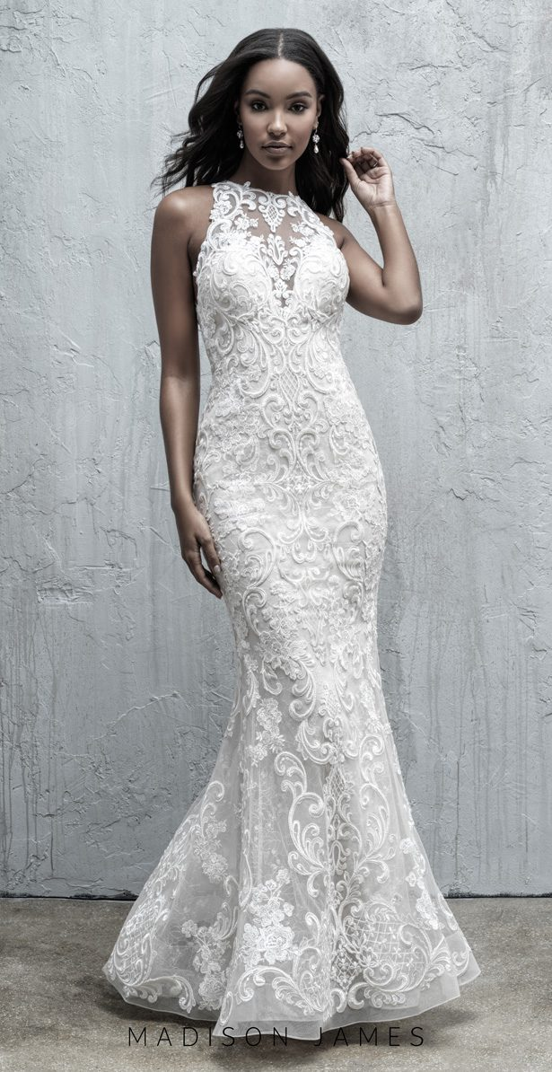 Stunning Wedding Dresses by Madison James Fall 2019 - MJ554B