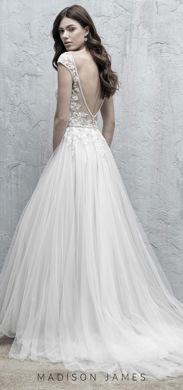 Stunning Wedding Dresses by Madison James Fall 2019 - MJ568